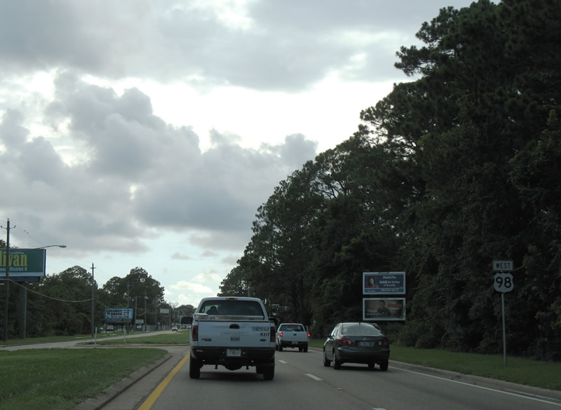 Florida @ SouthEastRoads - U.S. Highway 98 West - Bay County