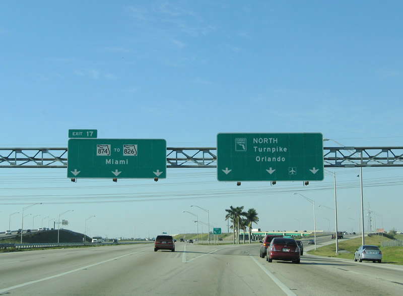Florida Turnpike Exits In Palm Beach County