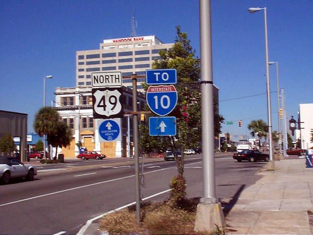 Mississippi @ SouthEastRoads - U S  Highway 49 Northbound