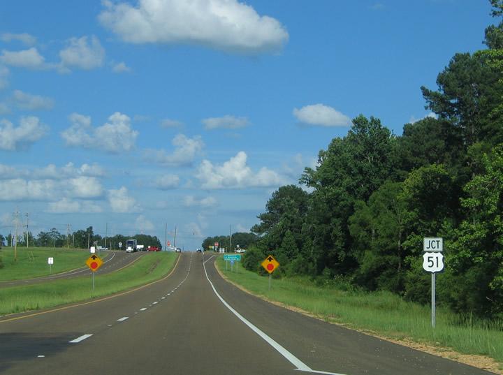 Mississippi @ SouthEastRoads - U.S. Highway 84 Eastbound ...